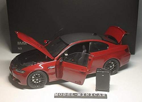 Kyosho 1/18 BMW E92 M3 Coupe トランク 赤 京商 B07S9MBTS3