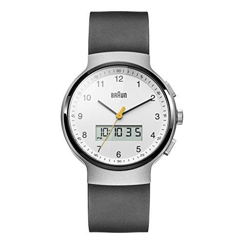Braun Men's BN0159WHBKG Analog Digital Analog-Digital Display Japanese Quartz Black Watch