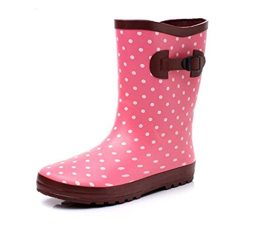 Estados Moda Los Europa Y Unidos 2 Estudiante A Botas De Zapatos Antideslizantes Lluvia Goma Agua Prueba Señoras B1Eqqzw