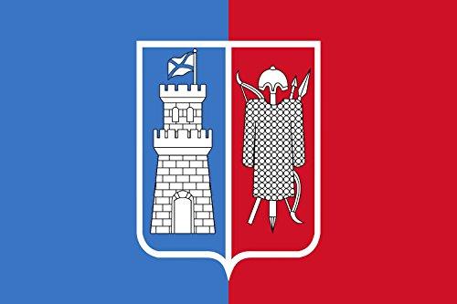 magFlags Large Flag Rostov-na-Donu | Rostov-on-Don | Rostowa nad Donem | Doni-äärse Rostovi lipp | landscape flag | 1.35m² | 14.5sqft | 90x150cm | 3x5ft - 100% Made in Germany - l