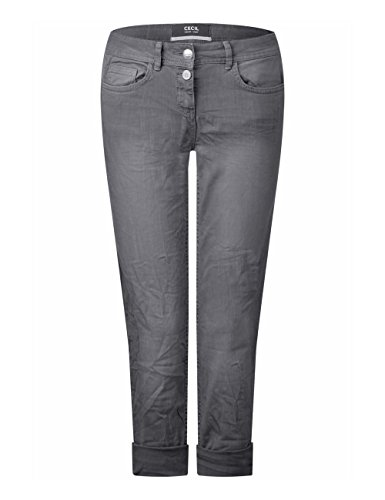 para Grey 10498 Graphit Cecil Straight Vaqueros Light Gris Mujer ZEC7xF