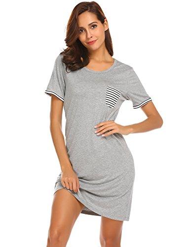 Ekouaer Nightgown Sleepwear Sleepshirt Nightshirt product image