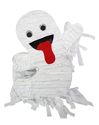 Pinatas Funny Halloween Ghost - Front Door Decoration, 19 inches -
