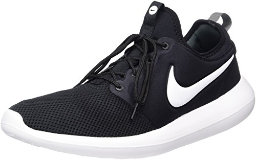 NIKE Men's Roshe Two Black/White/Anthracite/White Running Shoe 13 Men US