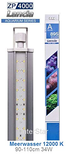 Zetlight ZP-4000-895 Plant Waterproof Aquarium LED Light, 36-46