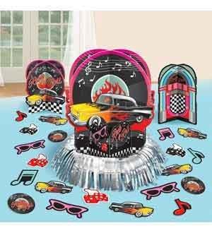 Classic 50s Table Deco Kit [2 Retail Unit(s) Pack] - 281276 -
