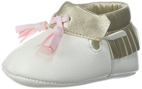Pictures of Baby Deer Girls' 0004136 Moccasin White 1 White 1 Child US Infant 1