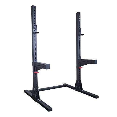 Titan X-3 Adjustable Short Squat Stand w/ Spotter Arms 3'' x 3'' by Titan Fitness