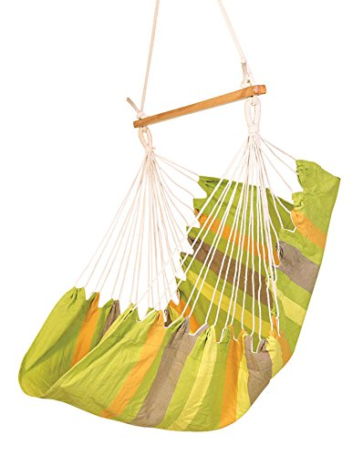 Hangit Cotton Swing Chair (Green, 50 Centimeters)