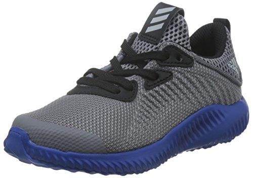 adidas alphabounce c - Zapatillas deportivas para niños, Gris - (GRIS/ONICLA/AZUL), -33