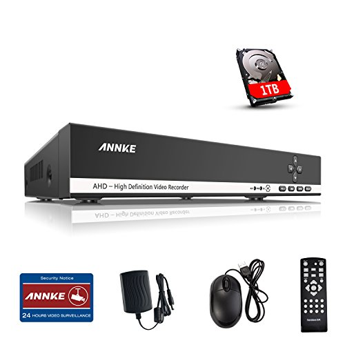 ANNKE 4 Channel Security Pre installed Network
