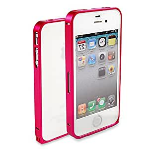 SUMCOM Purity Metal Frame Case for iPhone 4/4S , Black