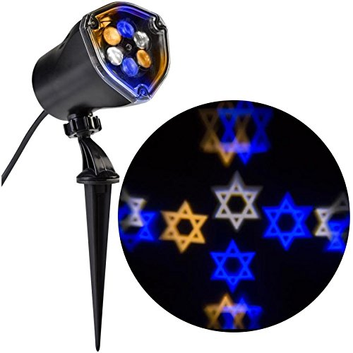 Outdoor Lighted Star Of David - 2