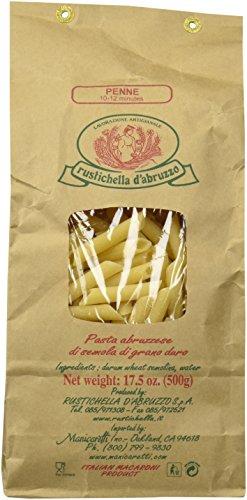 Rustichella D' Abruzzo Penne Pasta - 17.5 Ounces (Pasta Imported)
