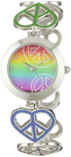"""Frenzy Kids' FR284 """"Peace Heart Novelty"""" Watch"""