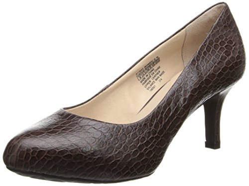 Rockport Women's Seven to 7 Low Pump Coach Croco 8 ()