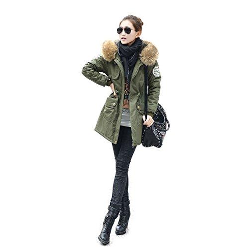 Polaire Femme Manteau Pour Filles Style Femmes zone Surprise Fourrure De Vert Homme Épaissir Chaud Parka Classique 5 nbsp;couleur xPqHAO
