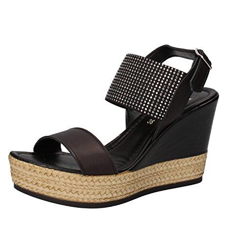 PHIL GATIER by REPO Mujer zapatos con correa negro