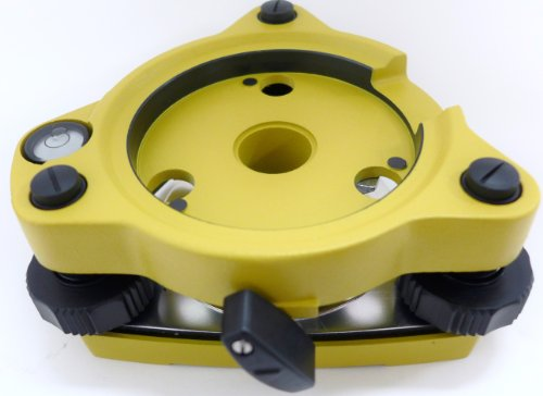 AdirPro Twist Focus Tribrach Without Optical Plummet - Yellow by AdirPro (Image #2)