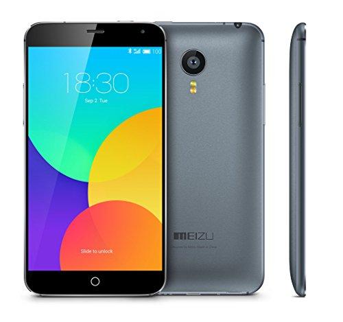 MEIZU MX4 5.4 Inch 4G Unlocked Smartphone MTK6595 2GB +16GB Gorilla Glass 1920 x 1152 Pixels Screen Flyme 4.0 20.7MP Camera (grey)
