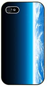 iPhone 4 / 4s Earth stratosphere- black plastic case / Space, Stars, Fantasy by icecream design