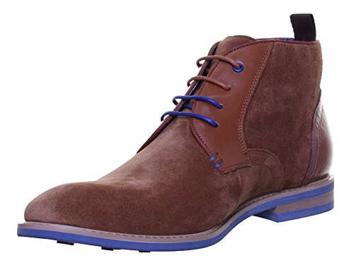 ed12689526f4 Justin Reece Leonard Mens Suede Leather Boots (7 UK