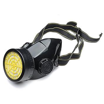 Lovinn - Máscara de Gas con respirador, Spray respirador de Gas, Seguridad Antipolvo,