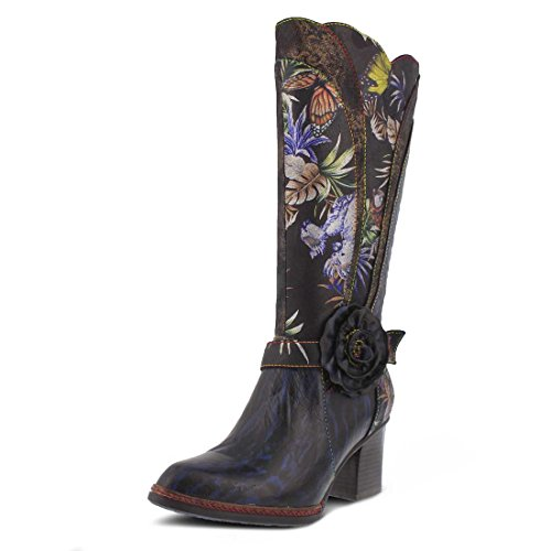 L`artiste Kvinna Savannah Boot Blå Multi