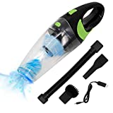 HiKiNS Car Vacuum Cleaner Handheld Vacuum Cordless with Quick Charger Tech Portable 120W