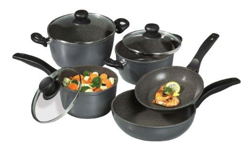 Stoneline Nonstick Stone Cookware - All-Purpose 8 Piece Set