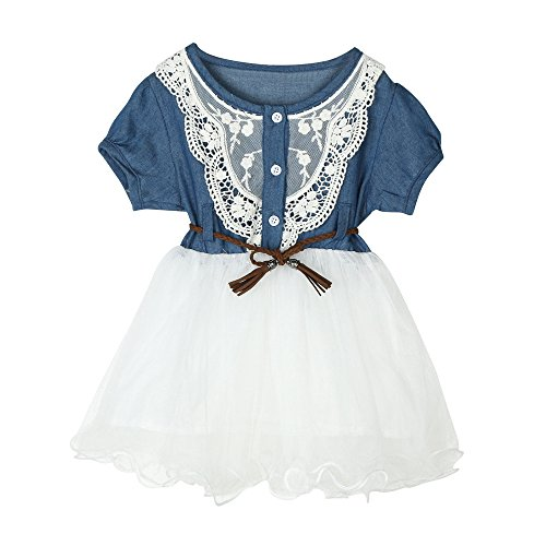 NEARTIME ❤️Baby Dress,Hot 2018 Cute Beautiful Baby Girls Infant Toddle Children 2Pcs Bow Striped Tops+Tutu Skirt Set