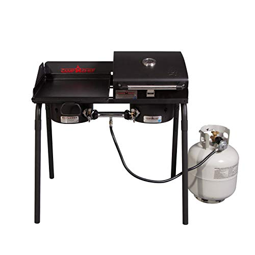 Camp Chef Tailgater Combo Camping Grill Stove