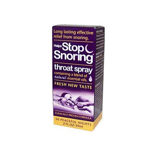 Essential Health Helps Stop Snoring Throat Spray - 2 fl oz (Essential Health Helps Stop)