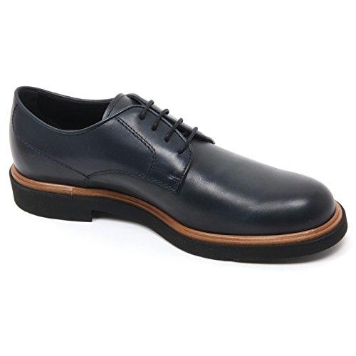 Classica B7285 Tod's Scarpe Scarpa Uomo blu Scuro Scuro Shoe Blu Man Derby qSx4ap