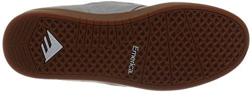 Emerica The Figueroa - Zapatillas de skateboarding para hombre Grey/Gum