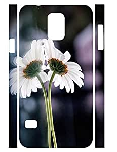 Hipster Classy Floral Pattern Durable Plastic Phone Skin Case for Samsung Galaxy S5 I9600