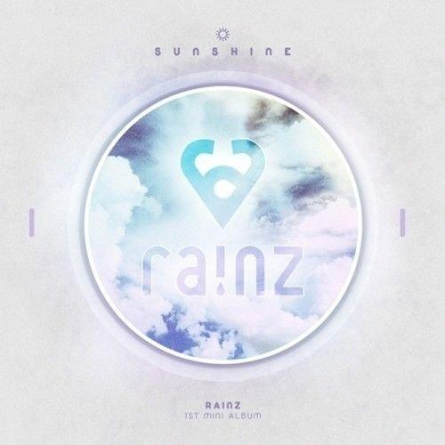 Price comparison product image Rainz - [Sunshine] 1st Mini Album CD+Photobook+PhotoCard+Postage Stamp+NameCard+Sticker Sealed