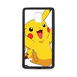 Samsung Galaxy Note 4 Cell Phone Case Black_Super Smash Bros Pikachu_008 Wugrn