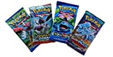 Pokemon TCG: 4 Booster Packs – 40 Cards Total| Value Pack Includes 4 Blister Packs of Random Cards | 100% Authentic Pokemon Expansion Packs