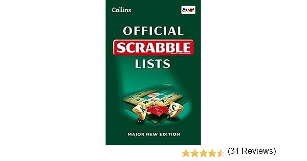 Collins Official Scrabble Lists: Amazon.es: Collins Dictionaries: Libros en idiomas extranjeros