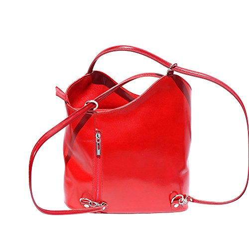 backpack Red Convertible 207 and bag shoulder CwzqFdg8