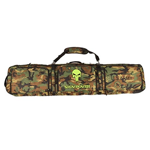 UNISTRENGH Waterproof Snowboard Bag Adjustable Durable Snow Skiing Snowboarding Bags (Jungle Camo,...
