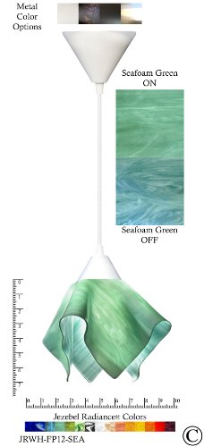 Sea Glass Colored Pendant Lights in US - 3