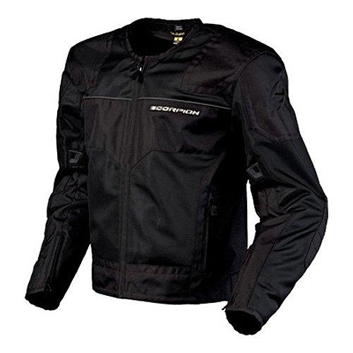 Scorpion Drafter Mesh (Scorpion Drafter Men's Mesh Vented Street Motorcycle Jacket - Black /)