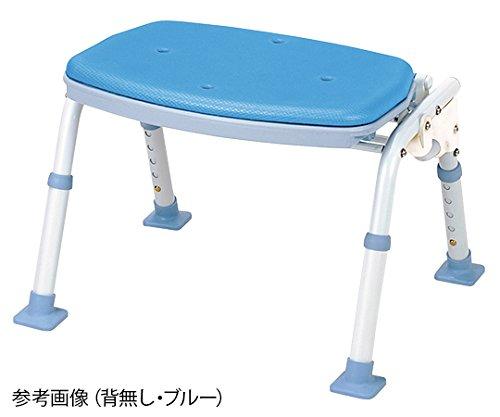 マキテック8-7012-02折りたたみシャワーベンチ(ソフテック)背無しブルー   B07BD2Z5LL
