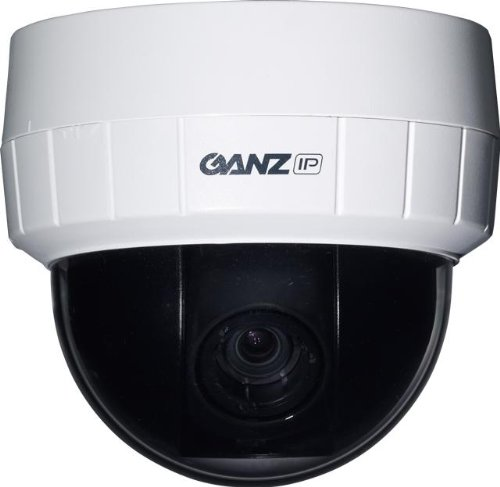 Ganz ZN-D1MTP PixelPro 720p HD Day/Night Network Dome Camera, 3-9mm ()