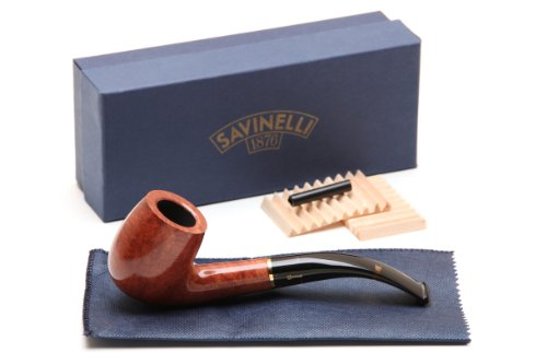 Smooth Pipe (Savinelli Oscar Tiger Smooth Briar Pipe KS 606 Tobacco Pipe)