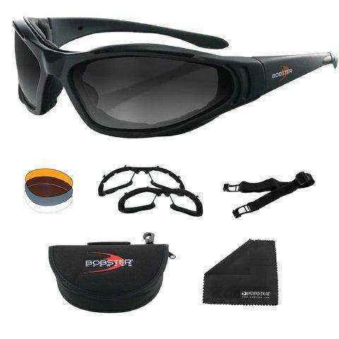 Bobster Raptor II Interchangeable Sunglasses - One Size by Bobster Eyewear