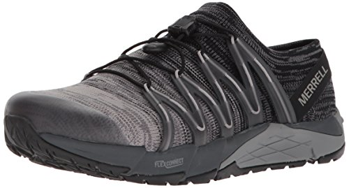 Merrell Women's Bare Access Flex Knit Sneaker, Black, 6.5 M US by Merrell