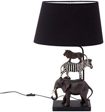 Lámpara de mesa infantil niños Animales Safari lámpara de noche ...